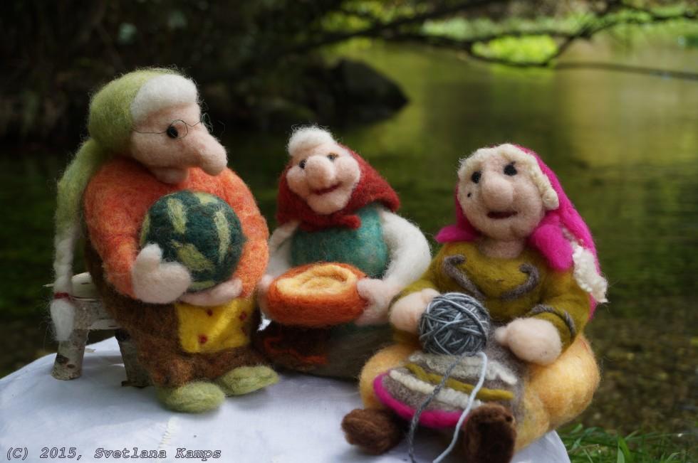 Трите баби сред Софийско поле