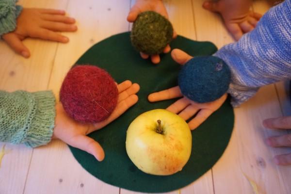 Oт зелена до печена ябълка – 10 дни :)