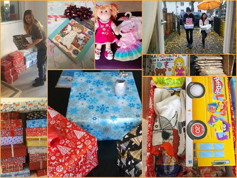 Коледа в кутия – предаване на подаръците до 3. декември.