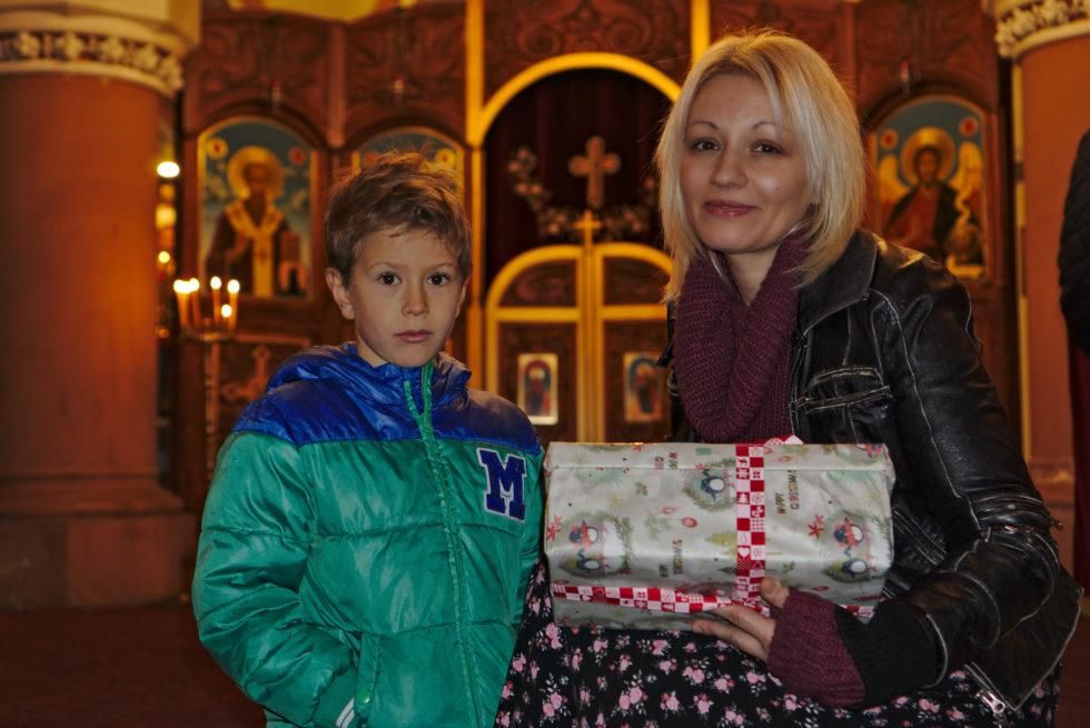 Коледни светлинки – Българска православна църква, гр. Мюнхен.