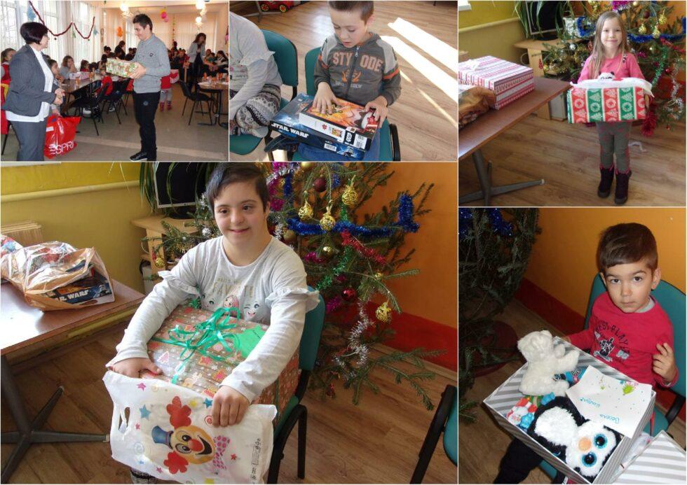 Най-щастливата – Константина. Коледа в кутия в Самоков и Полски Тръмбеш