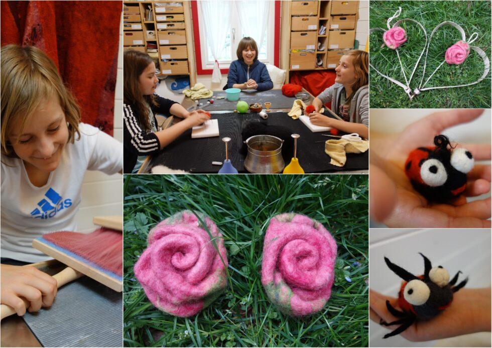 Рози, калинки и панички от къщата на баба Тайна