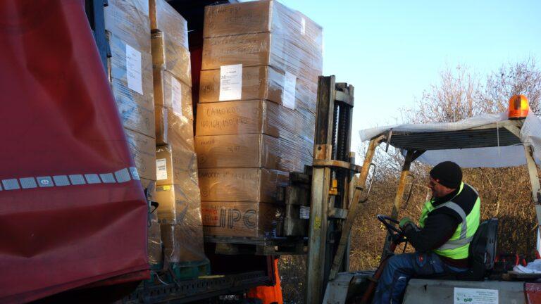Днес Коледа в кутия тръгна от Мюнхен с дарителски транспорт на DSV Road Bulgaria