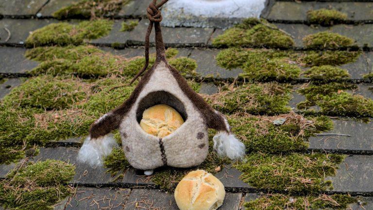 Kъщичка за косове, ако няма – за хлебчета
