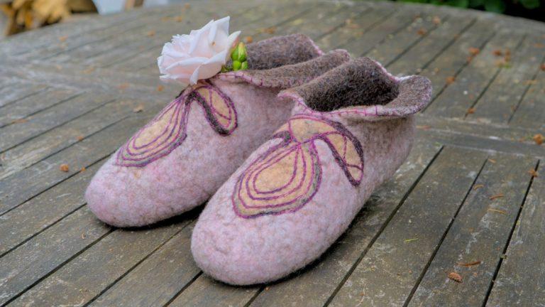 Плъстени пантофки