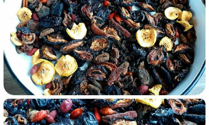 Сушени плодчета