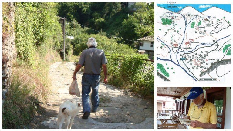 Ehrenwanderung für einen Freund – Hristo aus den Kosovo Häusern